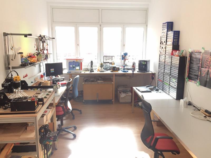 vspace one - Hackerspace, Makerspace und Chaostreff für